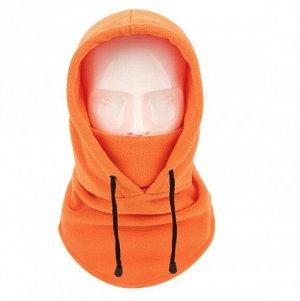 Балаклава унисекс с капюшоном, цвет оранжевый