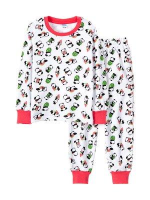 Пижама для девочки Панды