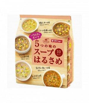 Суп Daisho Харусаме 5 видов лапши 10 порций, 164,8г, м/у