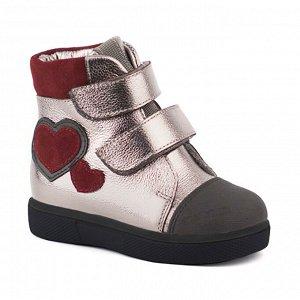 Ботинки девочка байка
