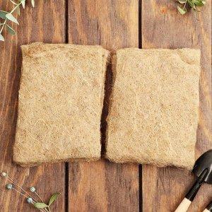 Набор джутовых ковриков для микрозелени