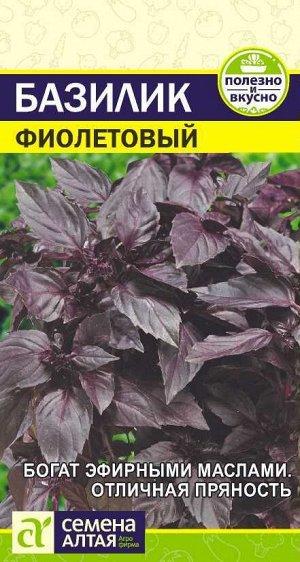 Зелень Базилик Фиолетовый /Сем Алт/цп 0,3 гр.