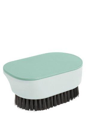 Универсальная щетка для чистки одежды и обуви, цвет зеленый