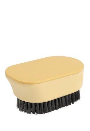 Универсальная щетка для чистки одежды и обуви, цвет оранжевый
