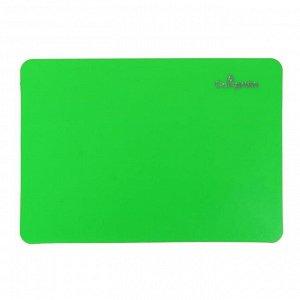 Доска для лепки пластиковая А5, Calligrata, ЯРКОЕ ТВОРЧЕСТВО, неон зеленый