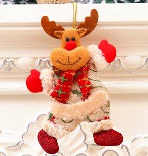 """Новогоднее подвесное украшение """"Олень"""""""