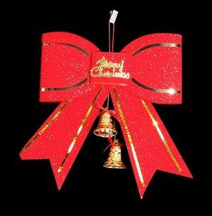"""Новогоднее подвесное украшение """"Бант"""""""