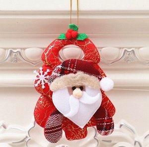 """Новогоднее подвесное украшение """"Дед Мороз"""""""