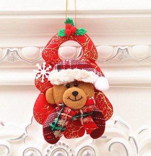 """Новогоднее подвесное украшение """"Медведь"""""""