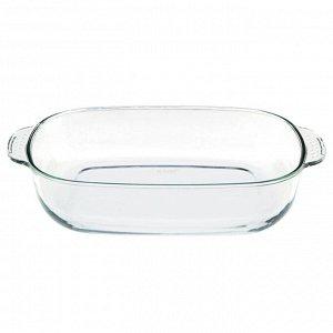 Форма стеклянная  прямоугольная 41х26х7см