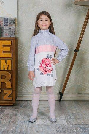 Красивое трикотажное платье Sweet Berry 110 р-р (на рост 110-116 см)