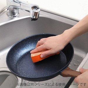 Сковорода Новинка! Сковорода с алмазно-мраморным покрытием Tafuco(JAPAN) (28см) глубокая для всех видов плит Супер новинка! Стильный дизайн!  Для всех видов плит в т.ч. индукционных. Высококачественна