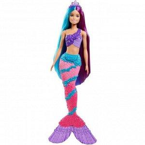 Кукла «Барби Русалка Дримтопия», с длинными волосами
