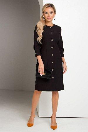 Платье Яна №1.Цвет:черный