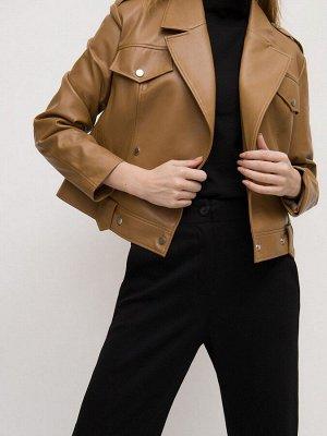 Куртка из экокожи N026/kibula