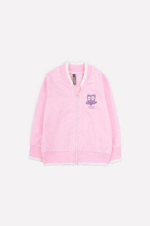 Куртка для девочки Crockid К 301374 розовое облако