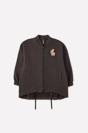 Куртка для девочки Crockid КР 301434 черный кофе к295