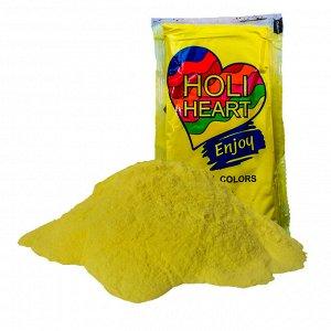 Краска Холи  Харт цвет желтый 120 гр