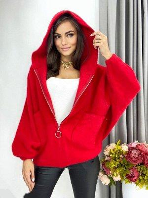 Куртка Модные ангоровые куртки из альпаки Длина 70 см. Обхват груди 135 см Длина рукава 60 см. Летучая мышь
