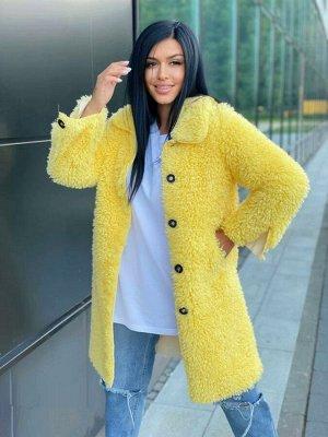 Пальто Пальто женский VEZIANE Материал: шерсть Застежка: пуговиц Длина 85 см