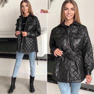 Куртка Куртки в рубашечном стиле ,Карман обманка ,ткань плащовка ,на синтепоне