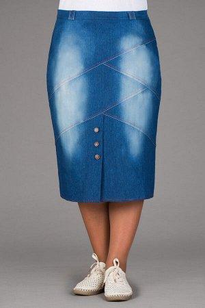 Юбка джинсовая юб-дж--310макс