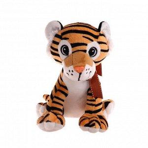 Мягкая игрушка «Тигр с бантом», 23 см