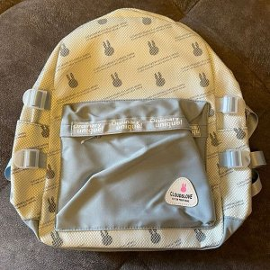 Рюкзак подростковый цвет бежево-голубой