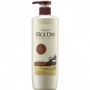 "CJ Lion ""Rice Day"" Восстанавливающий шампунь с рисовыми отрубями для повреждённых волос"