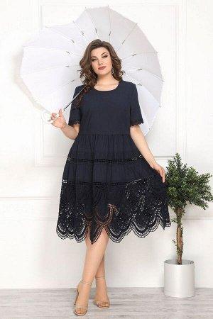 Платье Solomeya Lux 807 синий