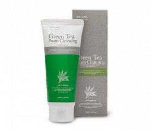Пенка для умывания с экстрактом зелёного чая
