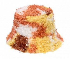 Теплая панама унисекс, разноцветная