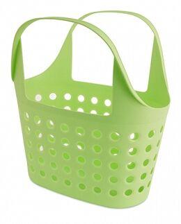 Корзина Корзина   325*228*360мм 7,6л [SOFT] САЛАТНЫЙ Корзинка Soft 7.6 — незаменимая вещь для людей, выбирающих удобный шопинг.  В магазине или на рынке, выбирая продукты, с такой корзинкой не надо бе