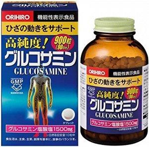 Поступление 20.09 Бад Глюкозамин и Хондроитин ORIHIRO 900т