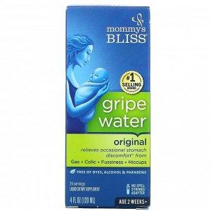 Mommy's Bliss, укропная вода, оригинальная, 120 мл (4 жидк. унции)