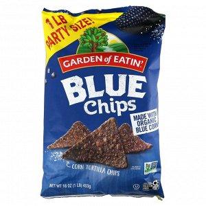 Garden of Eatin', Кукурузные чипсы Tortilla, синие чипсы, 453 г (16 унций)