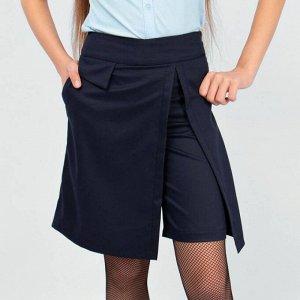 Юбка-шорты Соль&Перец для девочки темно-синий