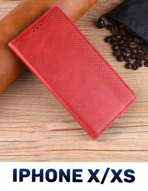 Чехол - книжка для iPhone X/XS