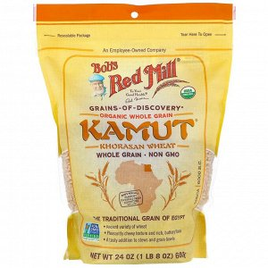 Bob's Red Mill, Kamut, органические цельные зерна, 680 г (24 унции)