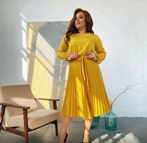 Платье Ткань -  Трикотаж