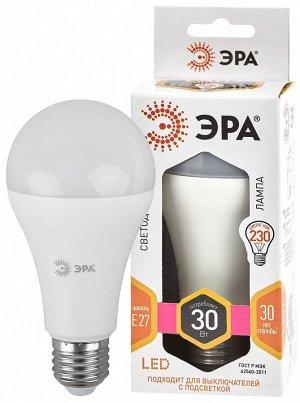 Светодиодная лампочка / лампа ЭРА LED A65-30W-827-E27