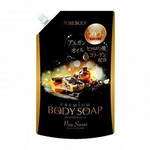 Крем-мыло увлажняющее с аргановым маслом, гиалуроновой кислотой и коллагеном (аромат дорогого мыла) МУ 840 мл