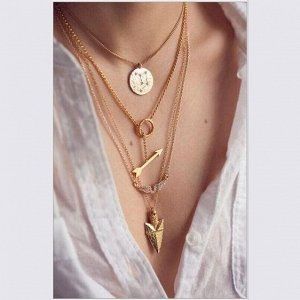 Многослойное ожерелье