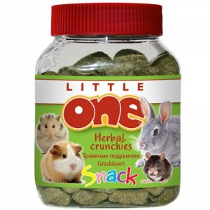 Литл Ван/Little One лакомство для грызунов Травяные подушечки 100г