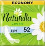 NATURELLA Женские гигиенические прокладки на каждый день Camomile Light Trio, 52 шт