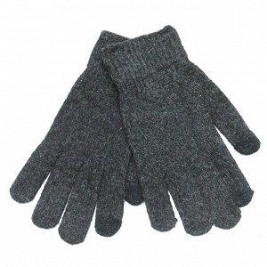 Перчатки мужские вязаные сенсорные тонкие