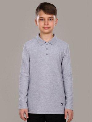 """Рубашка-поло для мальчика длинный рукав """"Майкл"""""""