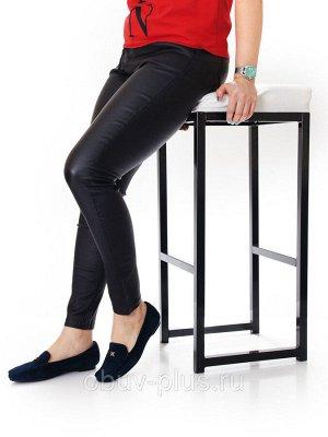 Мокасины Страна производитель: Китай Полнота обуви: Тип «F» или «Fx» Вид обуви: Мокасины Материал верха: Замша Материал подкладки: Натуральная кожа Цвет: Синий Стиль: Повседневный Вид стельки: Кожаная