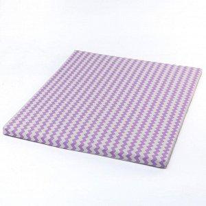 Матрас детский для пеленания,  63х73 см, цвет сиреневый
