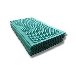 Складной кемпинговый ПЭТ коврик для пикника и отдыха на природе (хаки) 140х200 см.